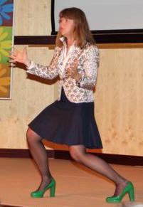 Anna Dyhre, konferencier