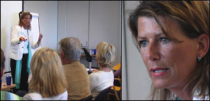 Kursledare Birgitta Jansson