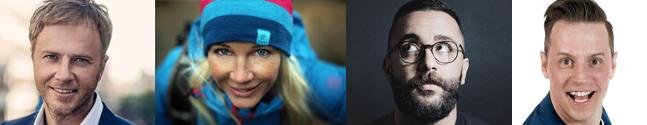 Olof Röhlander, Anneli Pompe, Ashkan Fardost, Stefan Odelberg